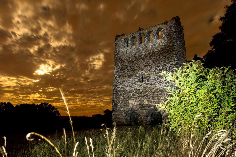 Ruine Nordhusen - Entdeckerpfad Zeitspuren