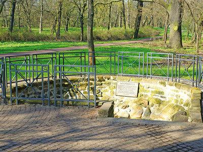 Die Salzquelle im Stadtpark Rotehorn